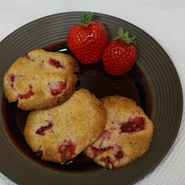 フレッシュ苺のクッキー*レシピ