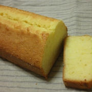 米粉入りパウンドケーキ