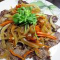 牛肉ソテー アジアン風味