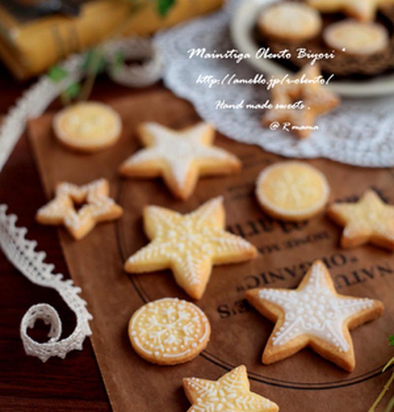 クリスマスにいかが?デコって楽しい冬のアイシングクッキー