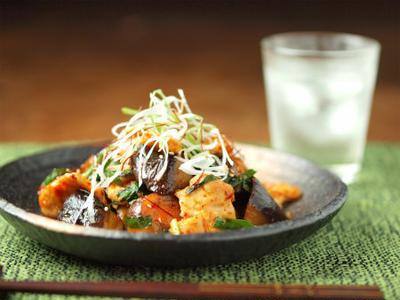 鶏キムチ炒め  しっとり鶏胸肉レシピ  & 大町情報プラザ「たろめん」