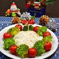 クリスマスに☆簡単!ブロッコリーリース