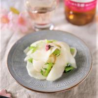 【おうちのみ大使】お花見にもお弁当にもぴったり♪かぶの桜の塩漬け
