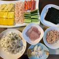 手巻き寿司♪
