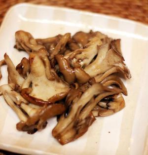 あと一品に☆5分でできる舞茸のマヨ炒め