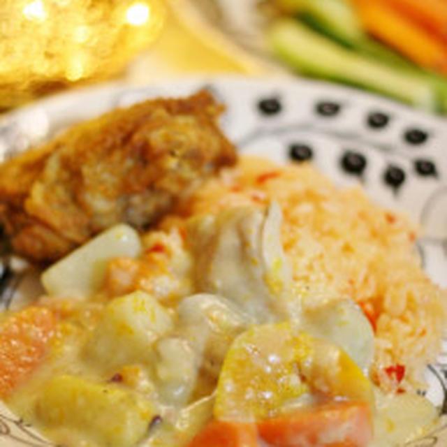 お芋と南瓜のクリームシチュー
