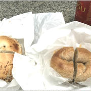 マルイチベーグルのサンドイッチ