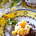 【ミモザのポワポワは何?】簡単にできるレモン風味のミモザケーキ