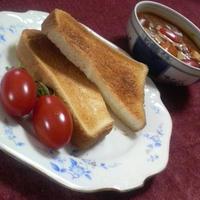 トマトカリースープ with ブレッド