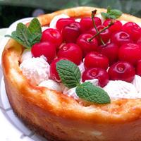 結婚記念日の卵なしベイクドチーズケーキ