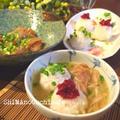 日本酒に合う♪お家でパーティ簡単レシピ  簡単ゴマだれと手まりオニギリで2度美味しい鯛茶漬け