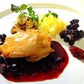 【クリスマスにもぴったり】鶏モモのコンフィ ベリーズソース by taroさん