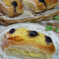 ルクエでチーズカスタードのサンドパン