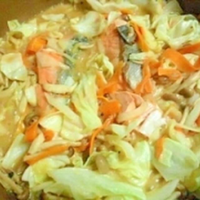 すき焼き鍋で簡単☆初めてのちゃんちゃん焼き
