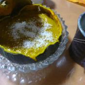 卵なしの簡単かぼちゃのプリン