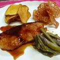 ぶりの照り焼き 野菜チップス添え by KEIKAさん