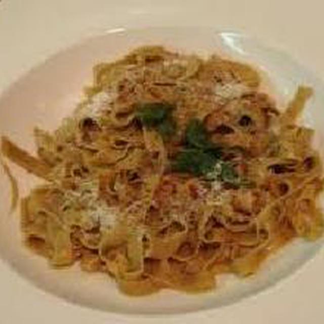 くるみのパスタ/Makaroni s orasima (パスタ:ザグレブ料理)