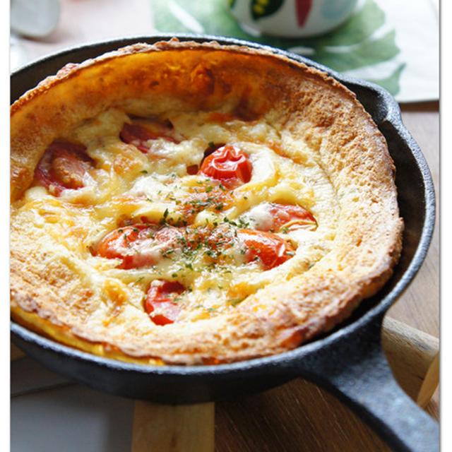 トマトとチーズの野菜だしダッチベービー ニトスキでダッチベイビー!