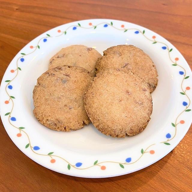 保育園おやつ☆焼くまで5分の小豆クッキー