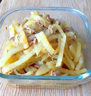 *常備菜*レンジで簡単!大根とのくたくた煮