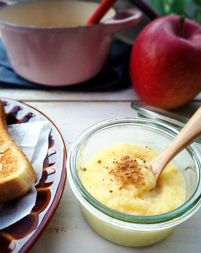 出初式に行った結果。 と 色々使えて便利♡安心安全りんごバター♪