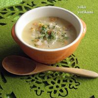 【レシピ】ポップコーンスープ