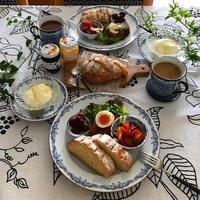 ミルクハース風豆乳パンで朝ごパン♪