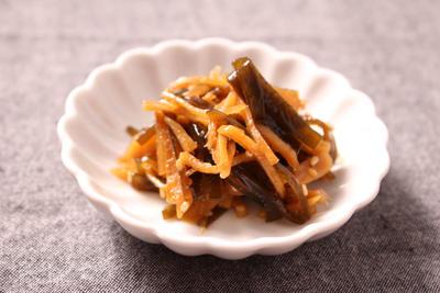 我が家の大人気ご飯のお供!!生姜昆布の佃煮~レシピあり