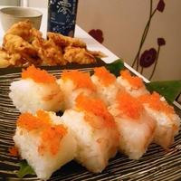 赤海老の棒寿司