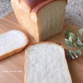 ヨーグルト酵母 山食パンとリュスティック おかず切り干し大根