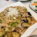 【田楽味噌で簡単】茄子とぶた肉のあま味噌炒めは水分を飛ばすように炒めておいしさUP
