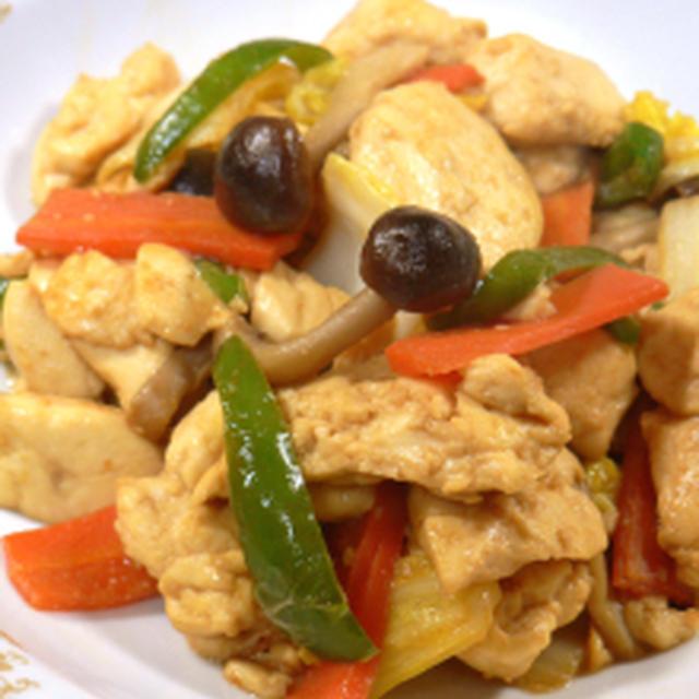 豆腐のササッと味噌炒め