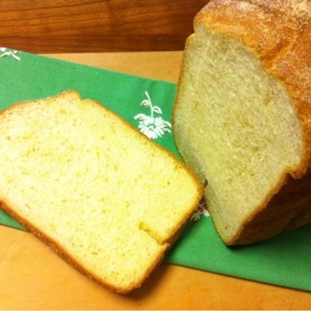 コーンミール食パン♪