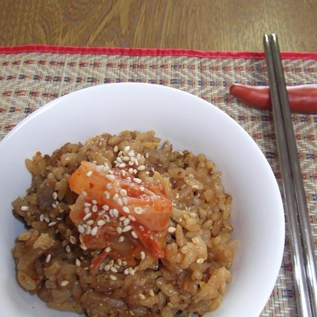 炊き込み&混ぜ込み★サムギョプサルご飯
