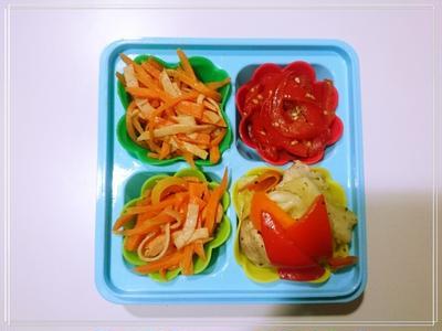 【Recipe:パプリカきんぴら】パプリカ1つ、お料理3つ