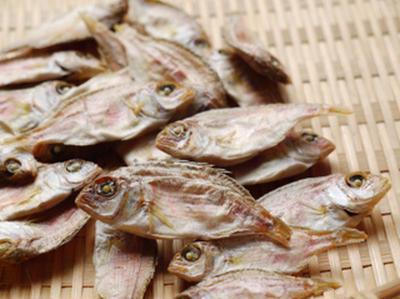 鯛煮干の出汁で食べる和風スープパスタ