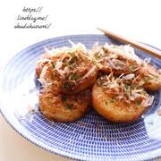 あと一品やおつまみに!長芋のマヨソース焼き、ちょっとお好み焼き風*3階からする物音の正体