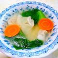 """"""" 青梗菜のスープ """""""