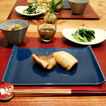 赤魚と筍の炊いたんで和食のお夕飯