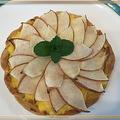 リンゴづくしでタルトとシフォンケーキ~♪♪