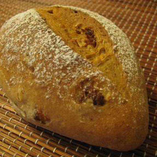 オートミールと全粒粉のパン