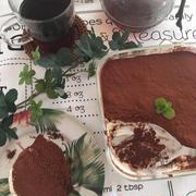超簡単にビスケットで♡ティラミス♡マスカルポーネを使わなくても美味しい!