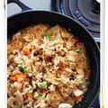 醤油麹で 鶏と野菜のおこわ風五目ご飯