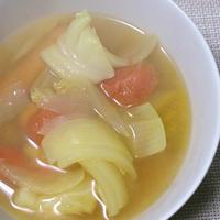 簡単たっぷり野菜としょうがのスパイススープ