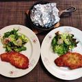 野菜がうまうまブロッコリーとカリフラワーのホイルチーズ焼き♪ by みなづきさん