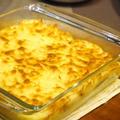 【うちレシピ】ダイズラボ・大豆のお肉でポテトグラタン