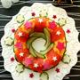 クリスマスにお寿司!きらきら星がいっぱいリース寿司 暮らしニスタ特集記事に掲載