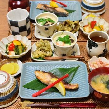 焼き魚で和食献立2連発♫