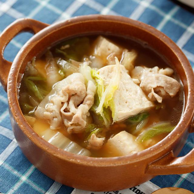 白菜と豆腐のコクうま♡とろみ中華スープ【#簡単 #時短 #節約 #ヘルシー #胃腸にやさしい #アレンジ可能 #冷蔵庫のお掃除 #おかずスープ #一汁一菜 #スープ】