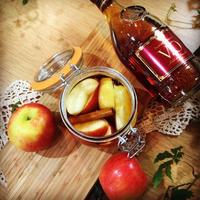 りんごとシナモンのフルブラ♡ フルブラdeチャイ♡ パウンドケーキ♡